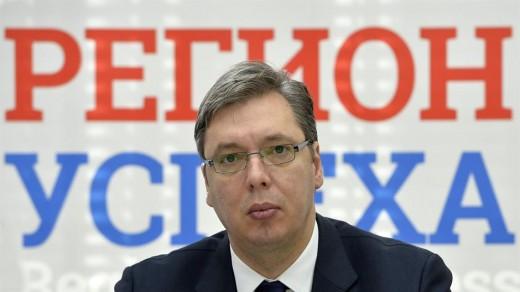 Alexandar Vučić, Serbia's Prime Minister.  Photo: Zoran Žestić