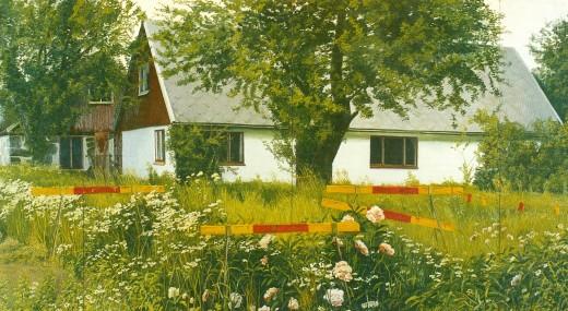 Gerhard Nordström, Ödehuset [The abandoned House], 1974.