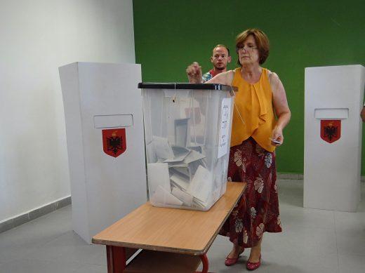 Tirana during Albania's parliamentary elections, 25 June 2017. OSCE/Thomas Rymer