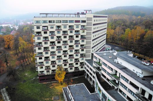First Collective housing estate in Litvinov.