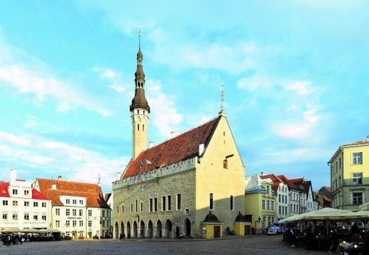 Old Town Hall of Tallinn.