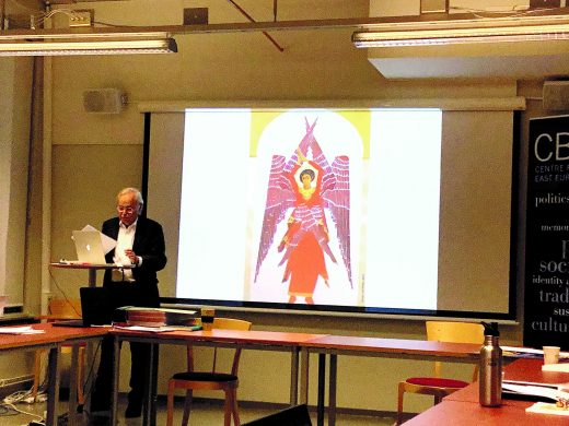 Per-Arne Bodin presenting his paper.
