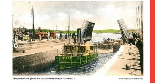 Feces is transported from Stockholm to the Archipelago.