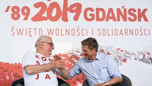 Lech Wałęsa i Leszek Balcerowicz_PAP_Adam Warawa