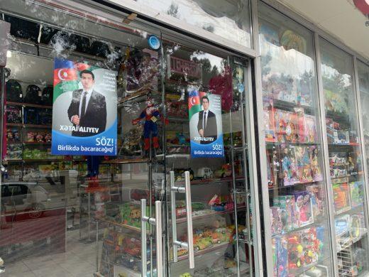 Election in Azerbaijan 2020.