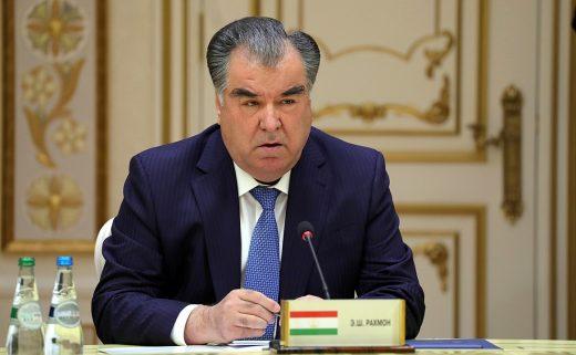 Emomali Rahmon has ruled Tajikistan since 1992. PHOTO: Kremlin.ru