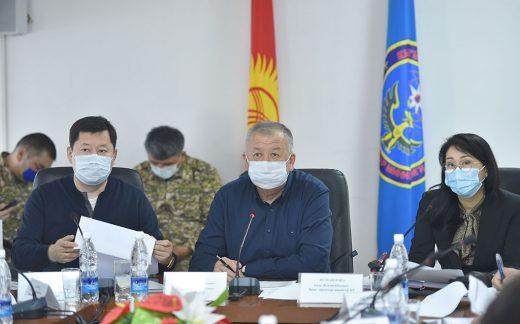 Kyrgyzstan struggles to protect medics: Deputy PM Kubatbek Boronov. (Photo: Government website)