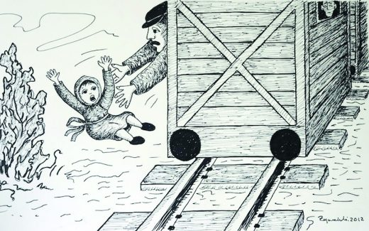 Saving children from the death in Treblinka. Castaways, LOGTV, 2012.