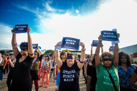 Feminist protest in Brasil 2019. Photo: Mídia NINJA