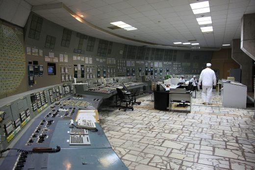 The control room of Chernobyl Nuclear Power Plant unit 3. Photo: Dana Sacchetti/IAEA